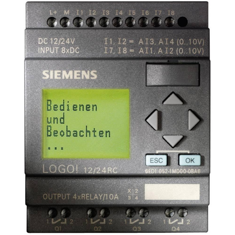 Siemens LOGO! 12/24RC PLC controller 12 Vdc, ...