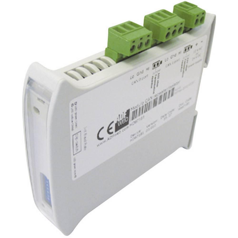 Ponavljalnik Wachendorff HD67181, 24 V/DC oz. 12 V/AC, vmesniki: 2 x CAN 2.0