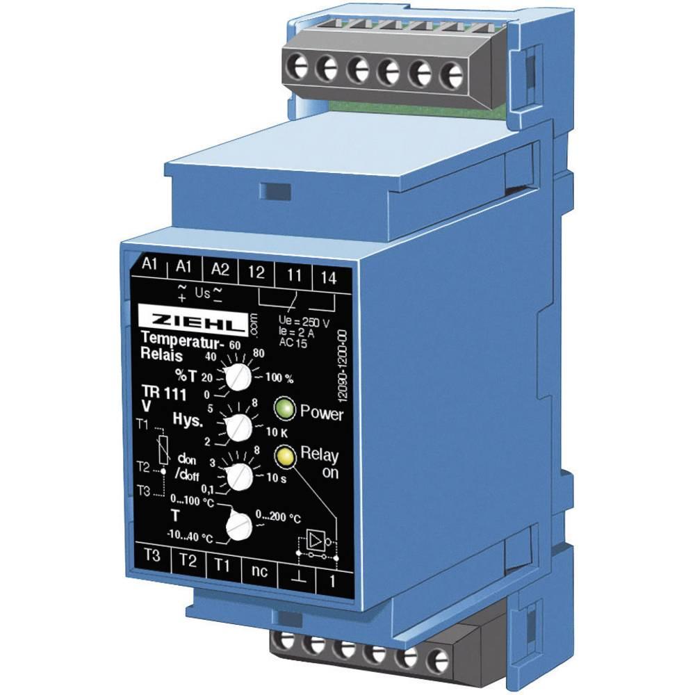 Elektr. ograničenje i nadzornik temperature Ziehl TR 111 V T224107.CO 24 - 240 V DC/AC T 224107.CO