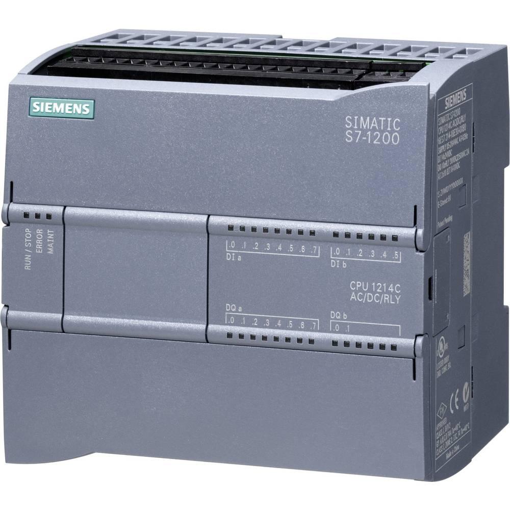 SPS upravljački modul Siemens CPU 1214C AC/DC/RELAIS 6ES7214-1BG31-0XB0 115 V/AC, 230 V/AC