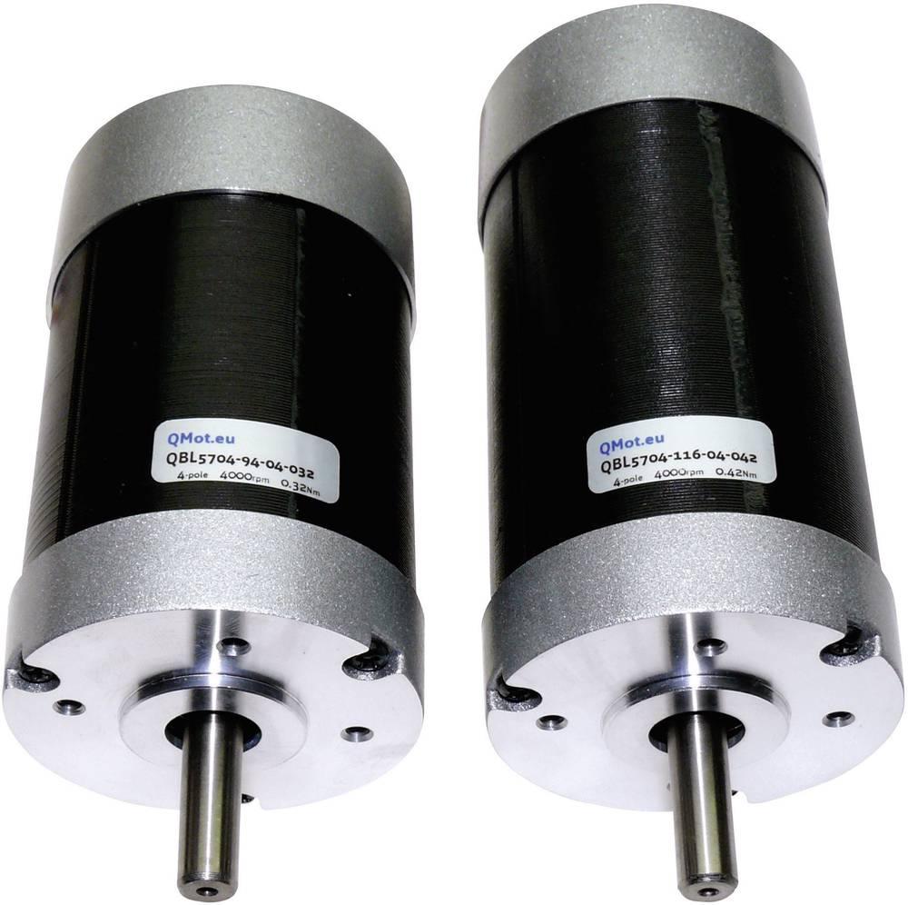 Brezkrtačni enosmerni motor Trinamic QBL5704-116-04-042, 51-0003, 36 V/DC, 0,42 Nm, 6,6 A