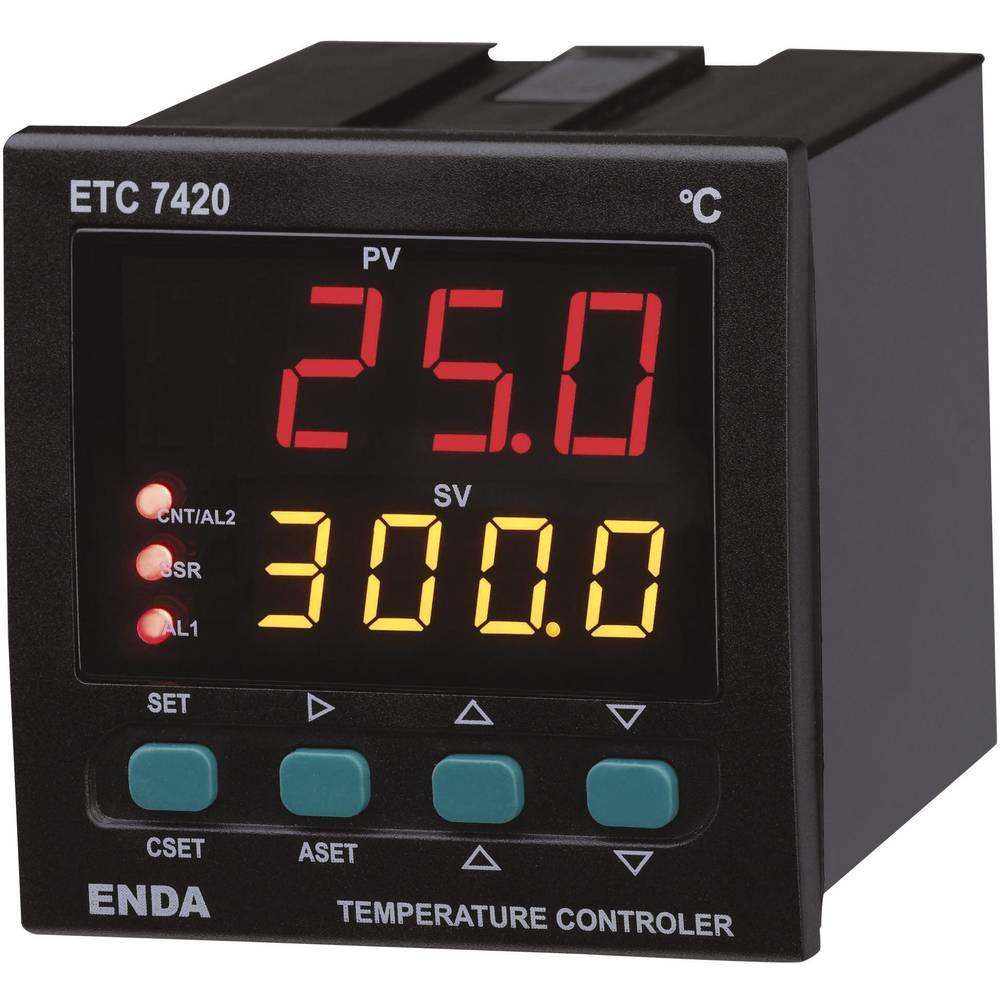 Temperaturni PID-regulator Enda ETC7420-230, mere (Š x V x Ga ETC7420-230, mere (Š x V x G