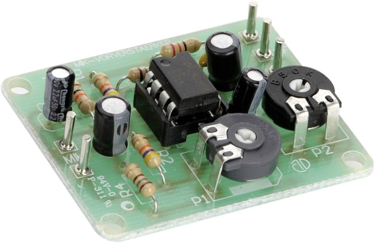 Dynamic Microphone Preamplifier Assembled Kit