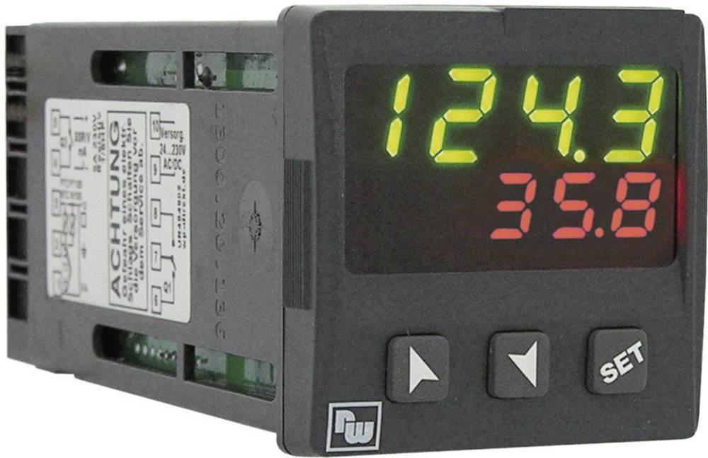 PID termostat Wachendorff UR484803 K, S, R, J, Pt100, Pt500, Pt1000, Ni100, PTC1K, NTC10K rele 5 A, SSR, RS 485 (D x Š x V) 125
