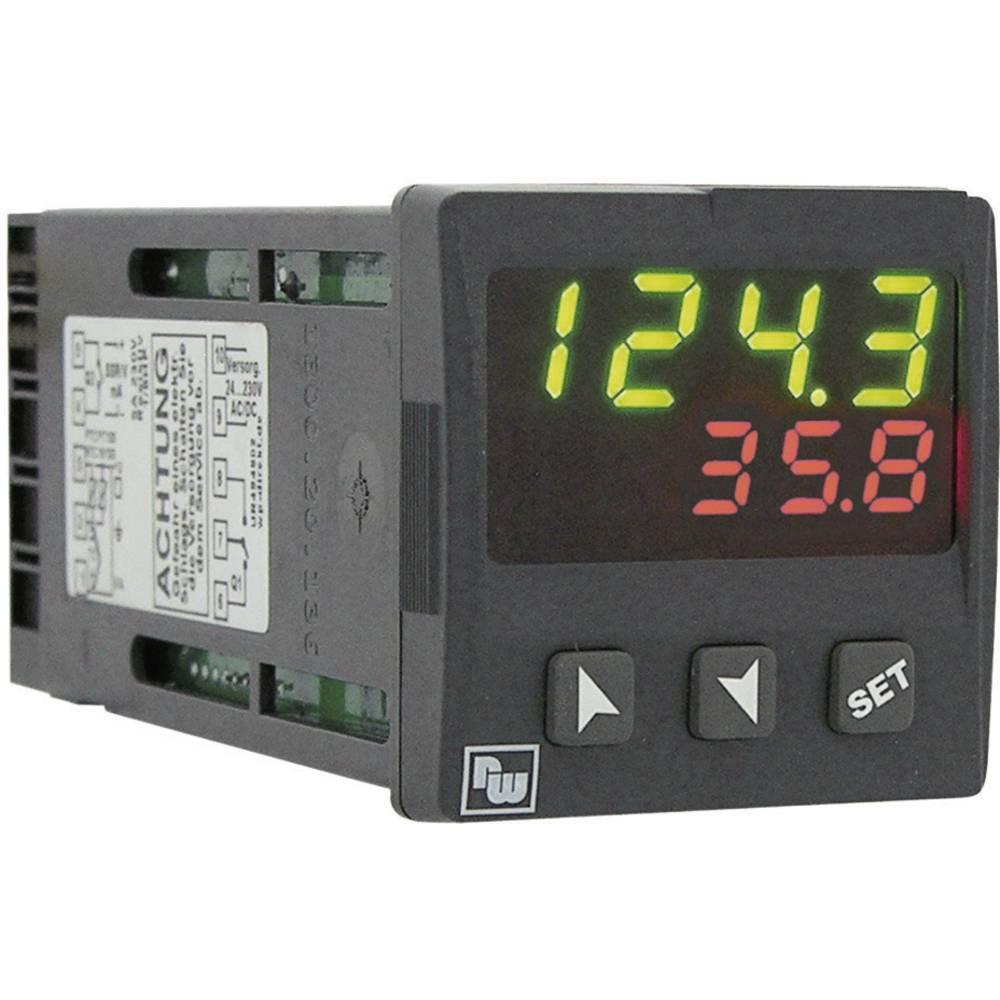 PID termostat Wachendorff UR484802 K, S, R, J, Pt100, Pt500, Pt1000, Ni100, PTC1K, NTC10K rele 5 A, SSR (D x Š x V) 125 x 48 x 4