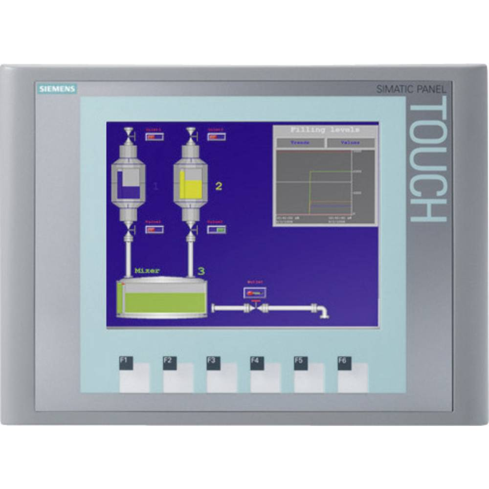 SPS proširenje zaslona Siemens SIMATIC KTP600 6AV6647-0AD11-3AX0 320 x 240 Pixel