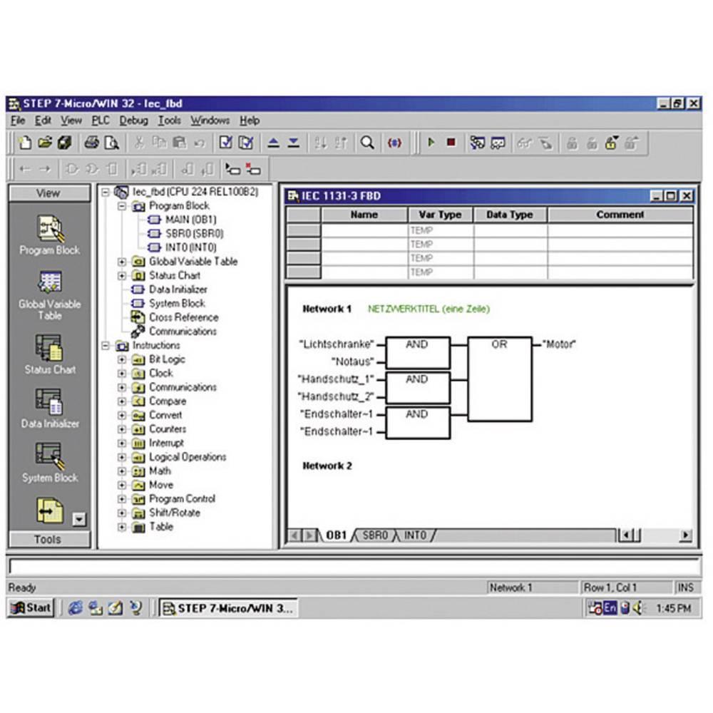 PLC Software Siemens STEP 7 Micro WIN V4 6ES7810 2CC03 0YX0