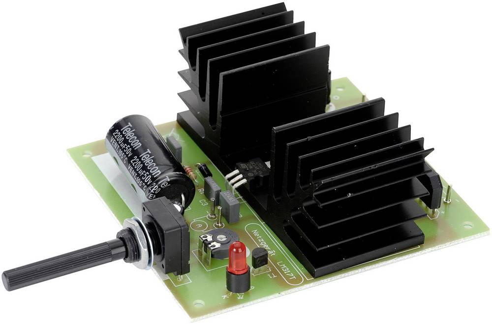 Uređaj za napajanje Conrad 1, 2 - 30 V/1,5 A Komplet za sastavljanje, ulazni napon maks. 30 V/AC, izlazni napon 1.2 - 30 V/DC, i