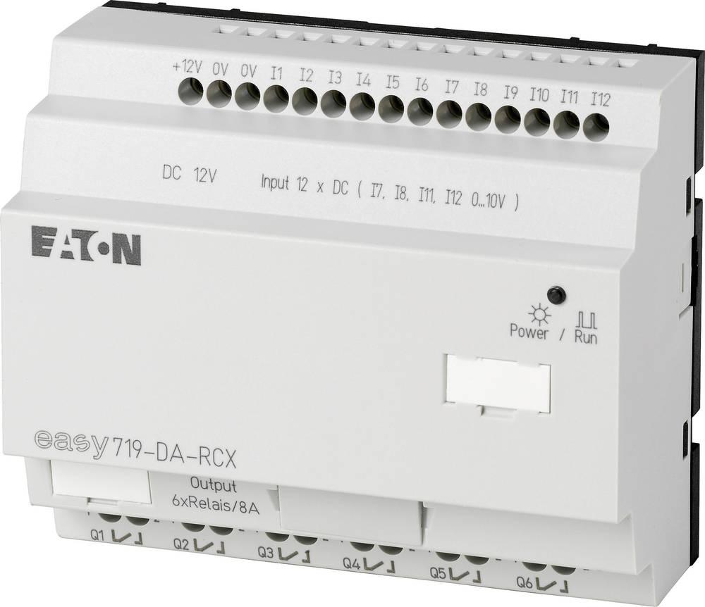 SPS-krmilni modul Eaton easy 719-DA-RCX 274118 12 V/DC