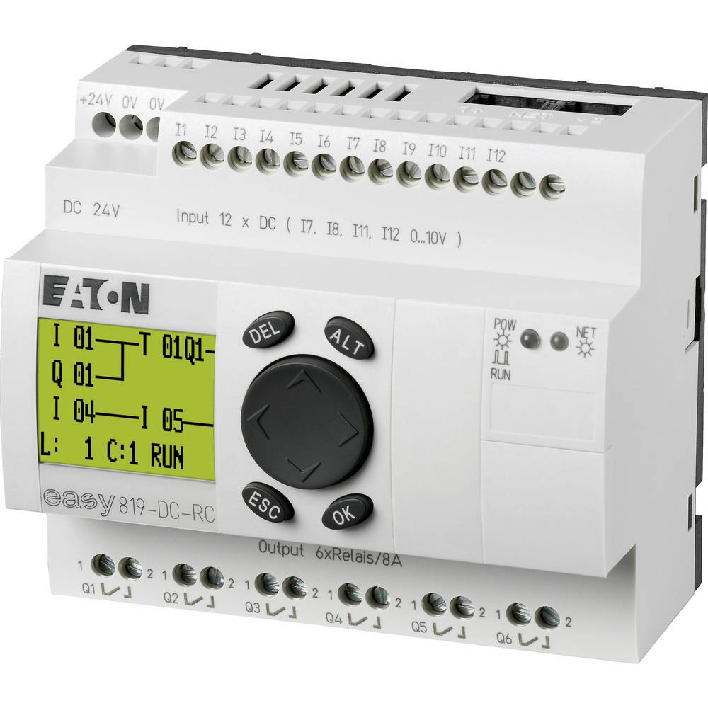 SPS-krmilni modul Eaton easy 819-DC-RC 256269 24 V/DC
