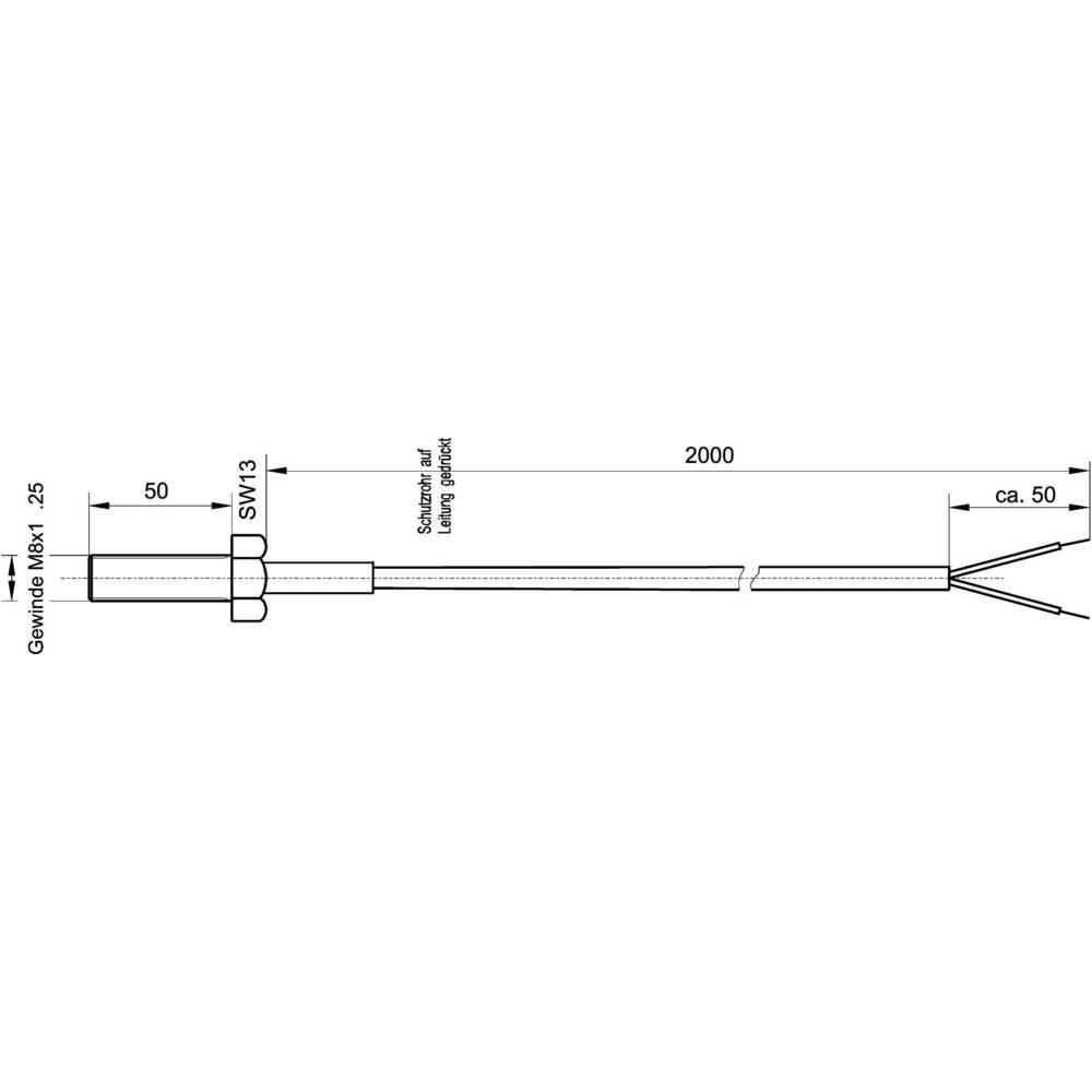 K4-TC-J Termoelement Suran Enda