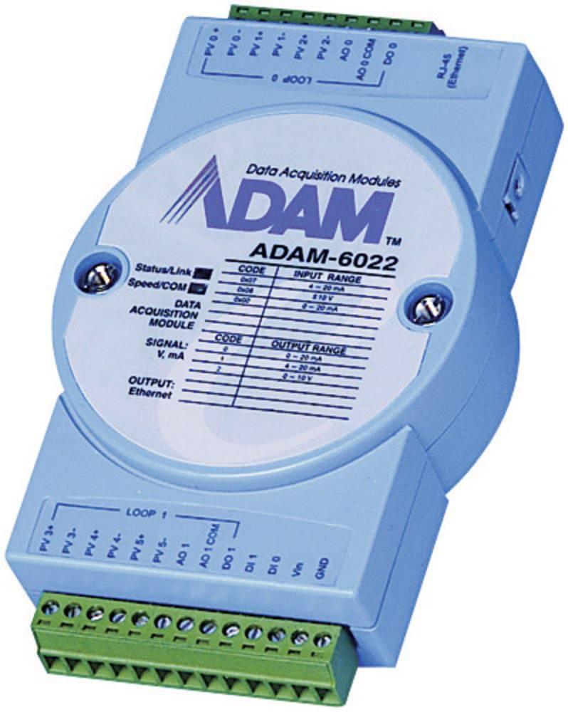 Advantech ADAM-6060-BE-TCP Modul, 6 Releinih izhodov/6 DI, 10-30 V/DC