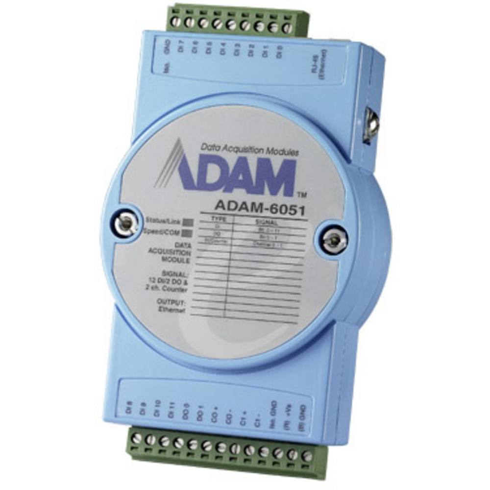 Modbus TCP, moduli E/A ADAM-6051-BE Advantech