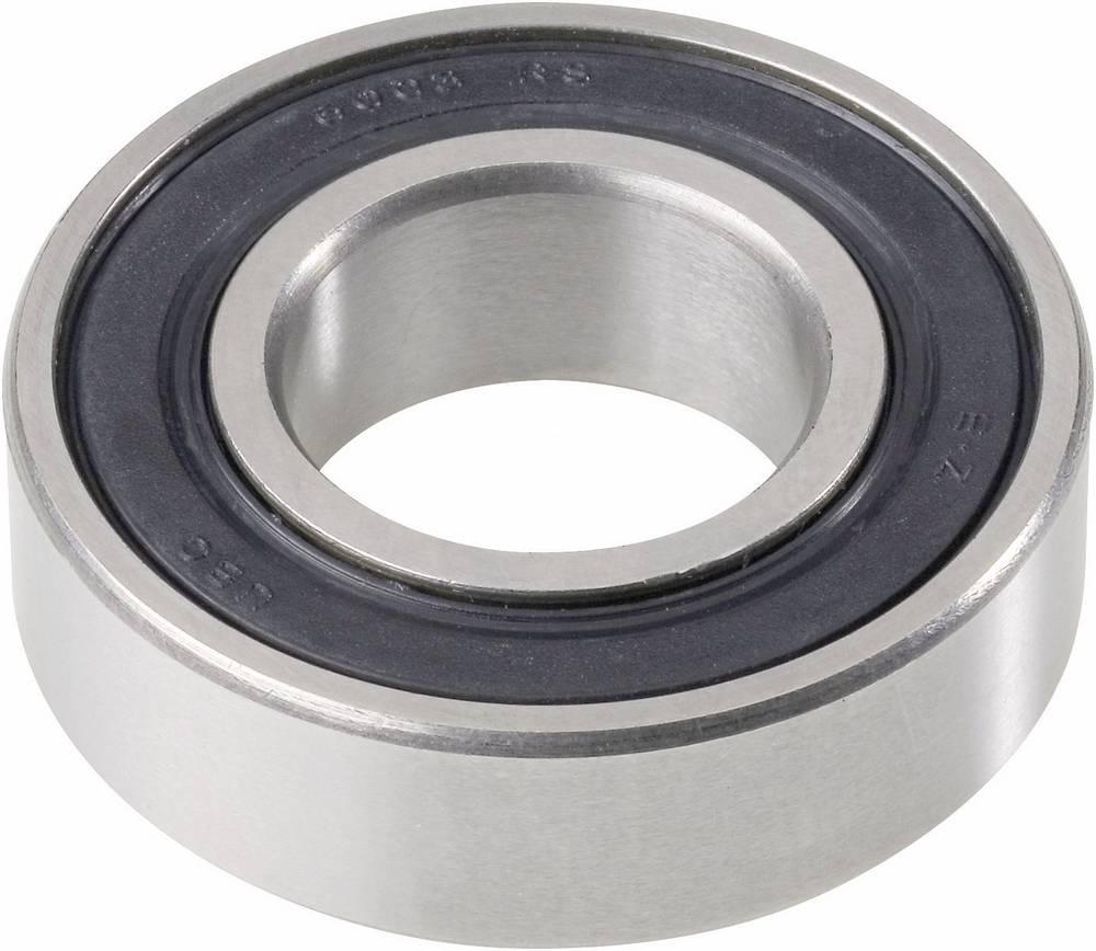 Žljebasto-kuglični ležaj od nehrđajučeg čelika UBC Bearing S6204 2RS, O: 20 mm, 47 mm