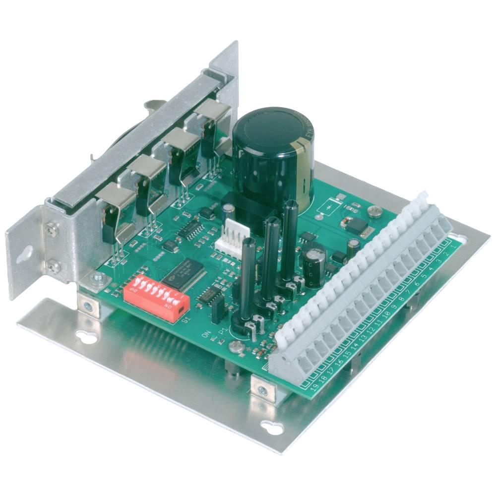 4-kvadrantni regulator vrtljajev EPH Elektronik DLR 24/10/M,z omejitvijo toka, 10-36 V/DC