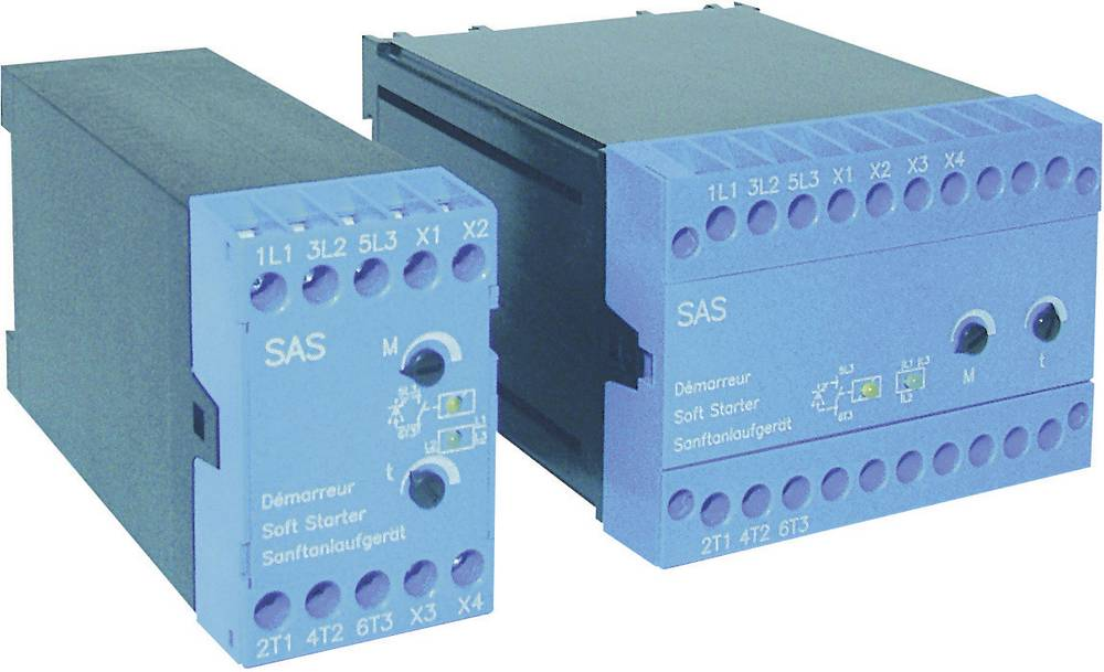 Mekani zaganjač Peter Electronic SAS 3, 230/400 V/AC, snagamotora: 1, 5/3, 0 kW, 6, 5 A