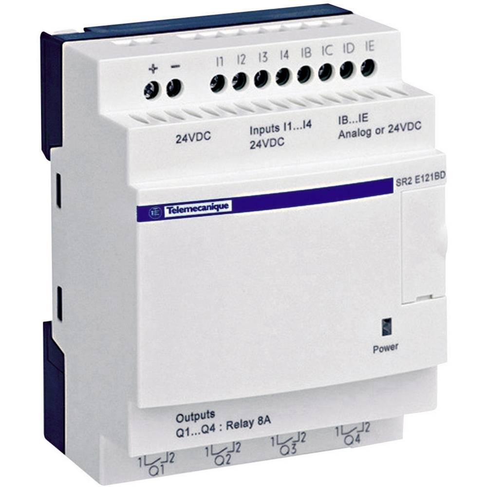 Schneider Electric Sr2d201fu Zelio Compact Plc Module From Under Current Relay