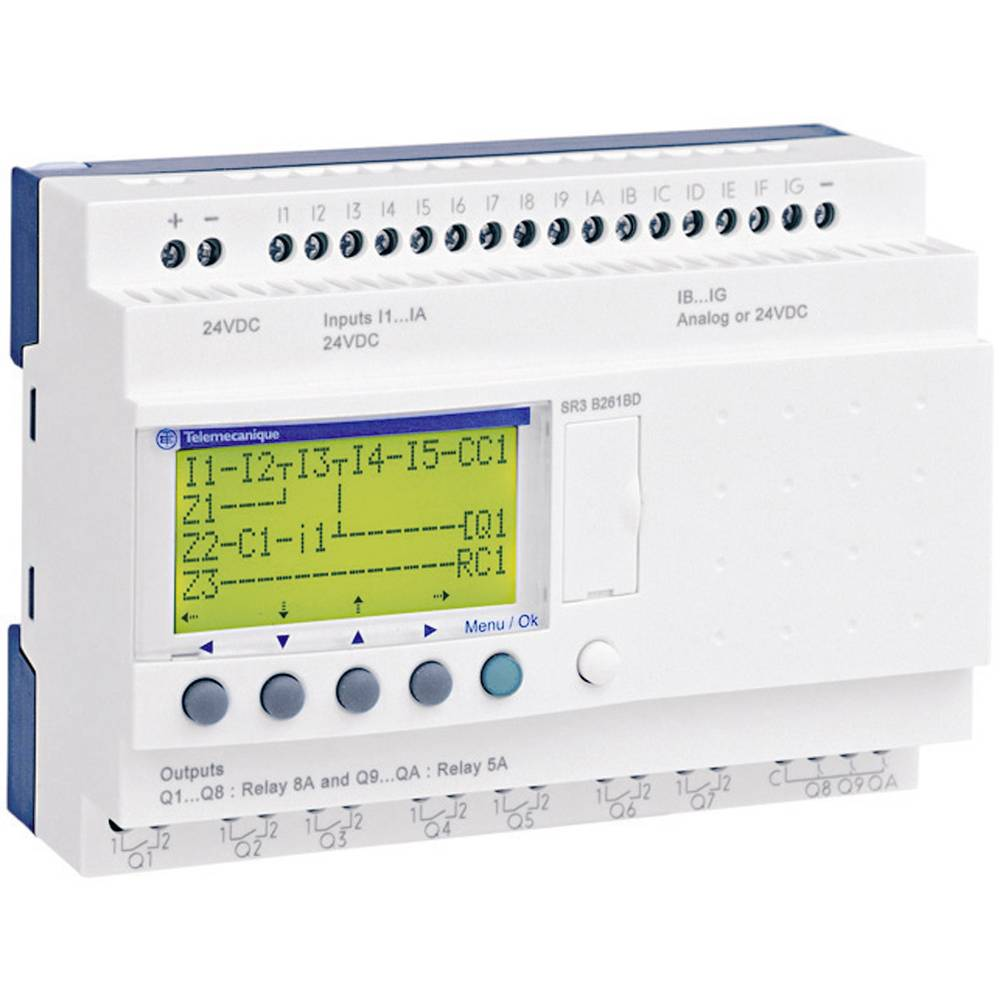 PLC controller Schneider Electric SR3 B261FU 1040044 115 V AC, ...