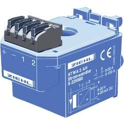 Tokovni transformator Ziehl,9-30 V/DC, merilni vhodi: 0-20/100 A, izhodi: 4-20 mA/DC