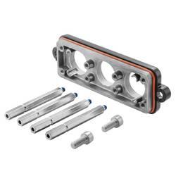 Ohišje vtičnega konektorja HDC IP68 24B MD Weidmüller vsebuje: 1 kos