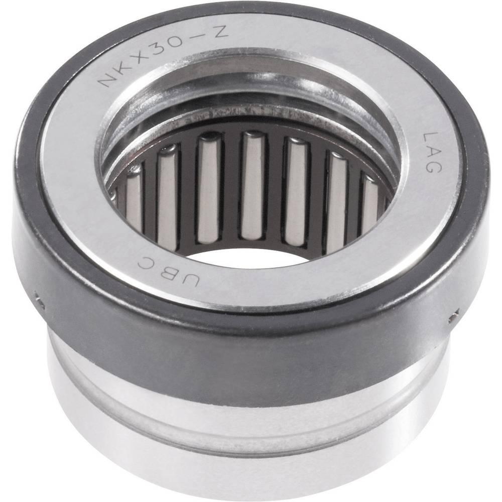 Aksialni iglično-žlebasto-kroglični ležaj UBC Bearing NKX 10Z, DIN 5429, O: 10/25,2 mm