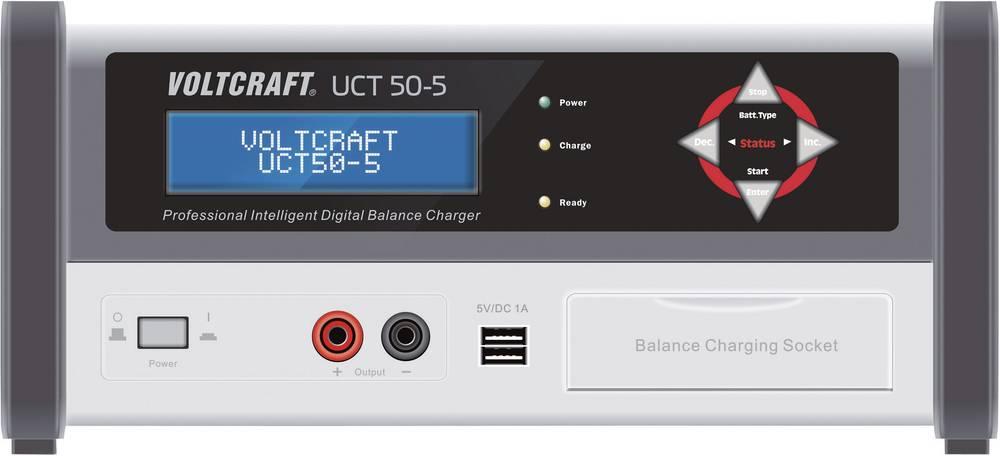 VOLTCRAFT akumulatorska polnilna postaja UCT 50-5 polnilna postaja, polnilna naprava UCT 50-5 za NiMH, NiCd, svinčevi akumulator