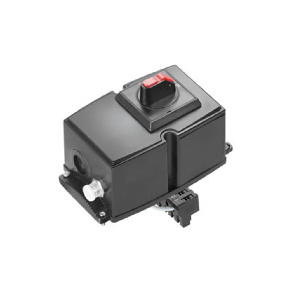 Razdelilna škatla , prilagodljiva: 0.5-6 mm toga: 0.5-6 mm Weidmüller FP TERMINAL LG 1-PE 1 kos črna