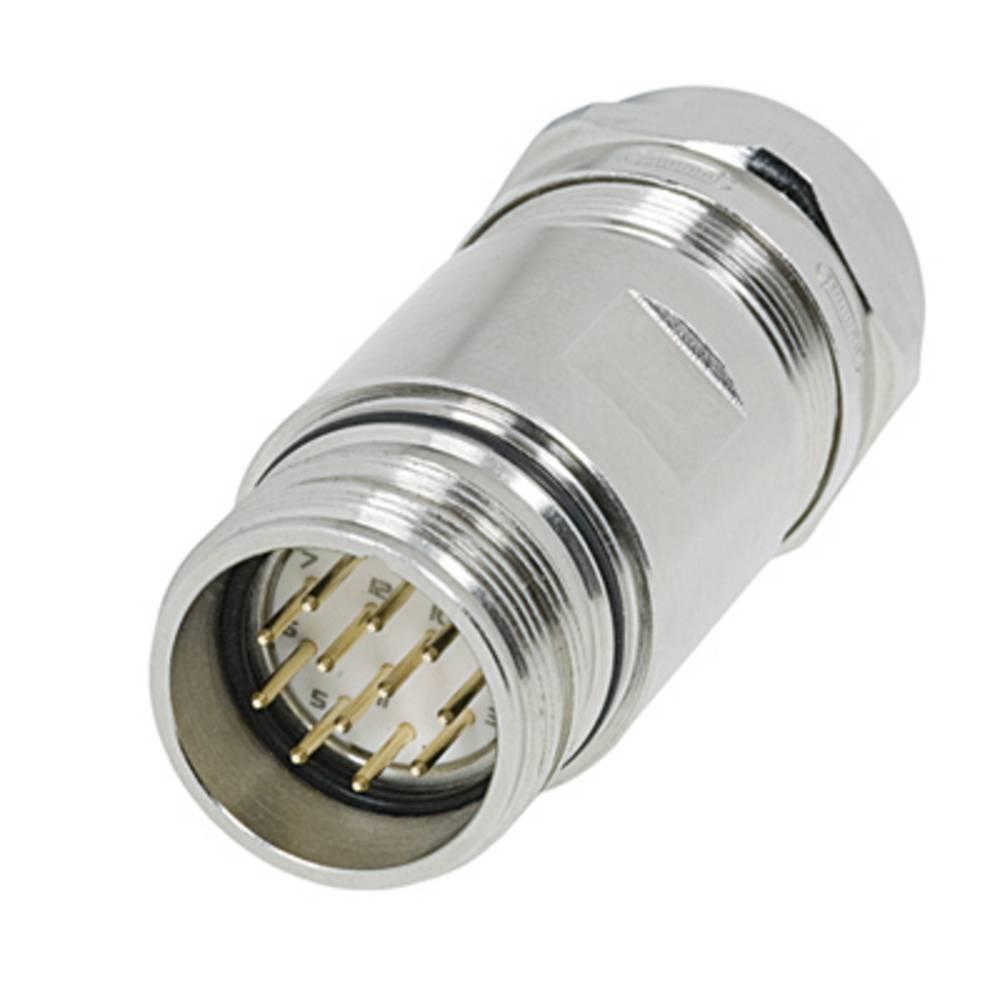 Vtični konektor za senzorje in aktuatorje,, prazno ohišje SAI-M23-KS-7/12 Weidmüller vsebuje: 1 kos