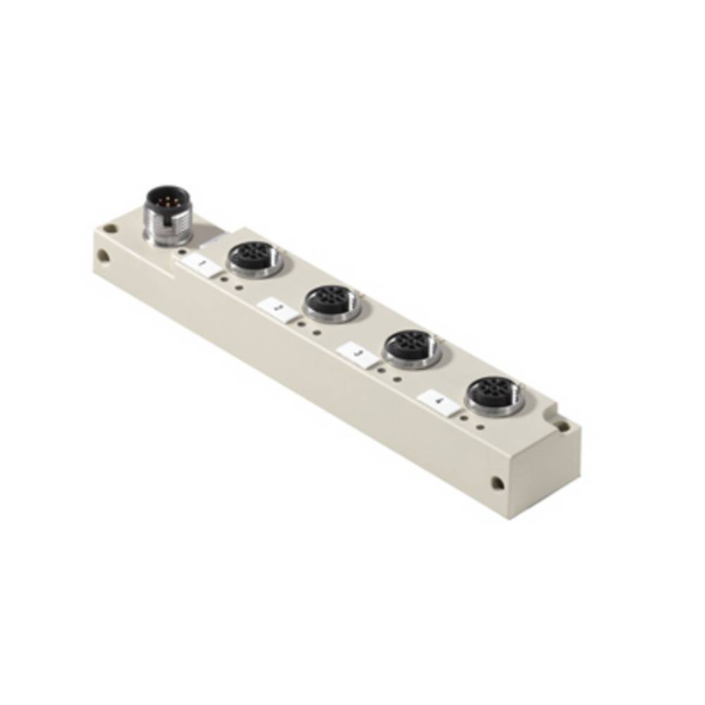 Razdelilnik za pasivne senzorje in aktuatorje SAI-4-S8 4P M12 L Weidmüller vsebuje: 1 kos