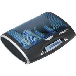 Oplader til runde celler NiMH VOLTCRAFT P-600 R03 (AAA), R6 (AA), R14, R20, 9 V blokbatteri