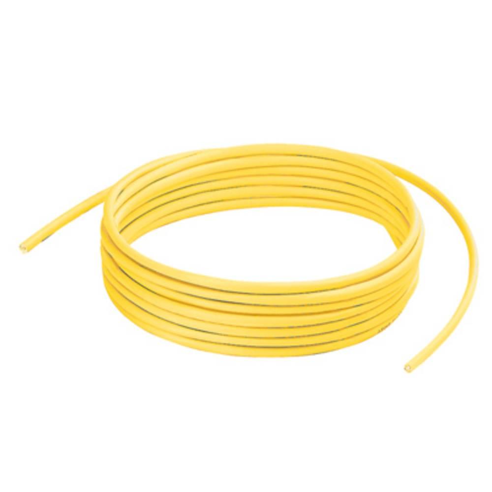 RJ45 omrežni priključni kabel CAT 7 S/FTP [1x RJ45-vtič - 1x RJ45-vtič] 305 m rumen z UL-certifikatom, negorljiv