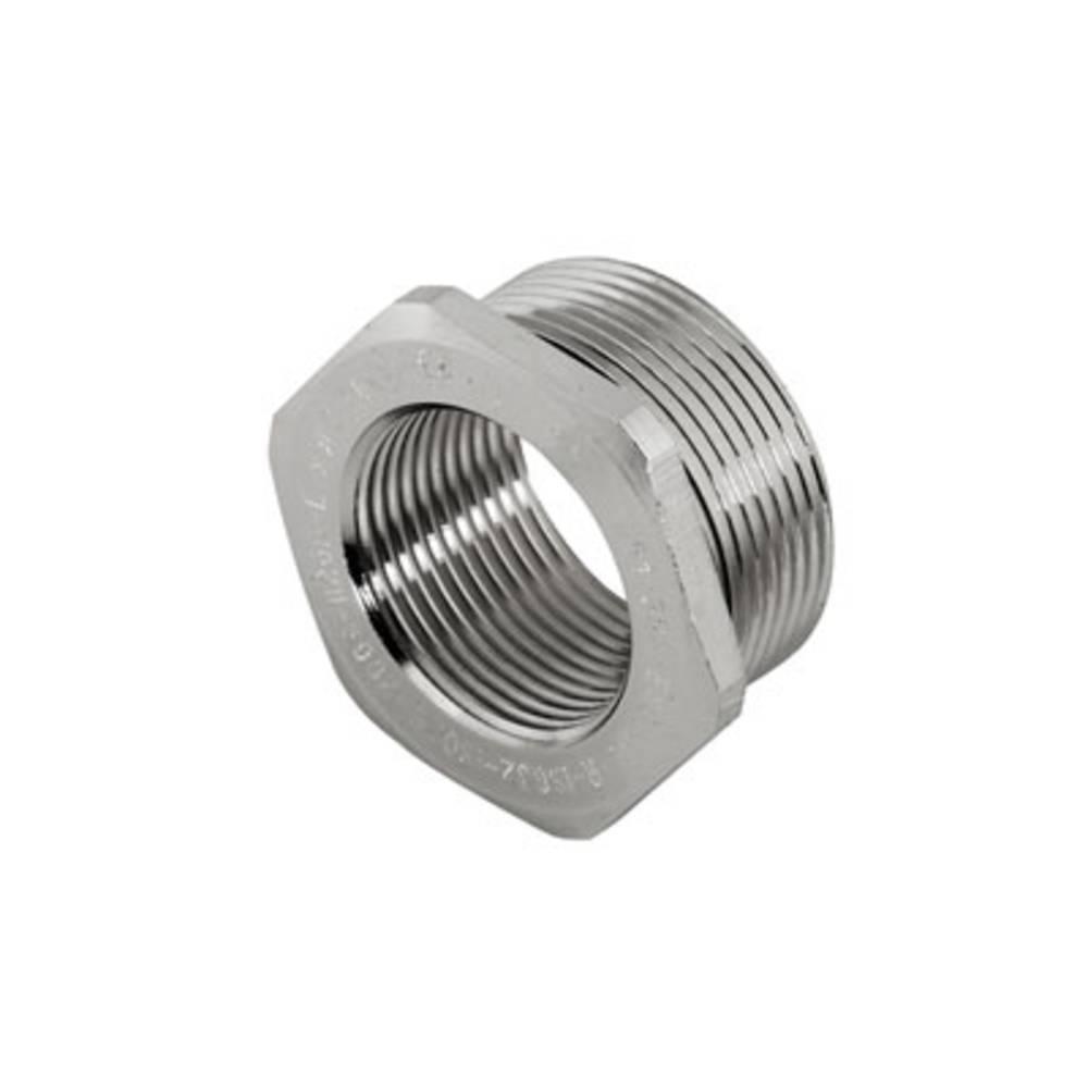 Kabelforskruning adapter Weidmüller 1738530000 3/4 Messing 1 stk