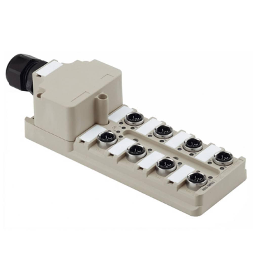 Razdelilnik za pasivne senzorje in aktuatorje SAI-8-M 3P IDC Weidmüller vsebuje: 1 kos