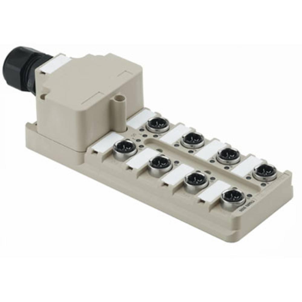 Razdelilnik za pasivne senzorje in aktuatorje SAI-8-M 4P IDC PE Weidmüller vsebuje: 1 kos