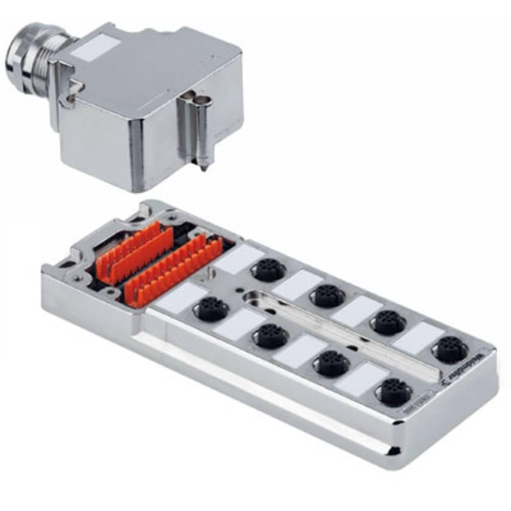 Sensor/aktorbox passiv M12-fordeler med metalgevind SAI-8-MMS 5P M12 1783510000 Weidmüller 1 stk