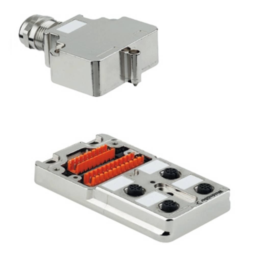 Sensor/aktorbox passiv M12-fordeler med metalgevind SAI-4-MM 5P M12 1783500000 Weidmüller 1 stk