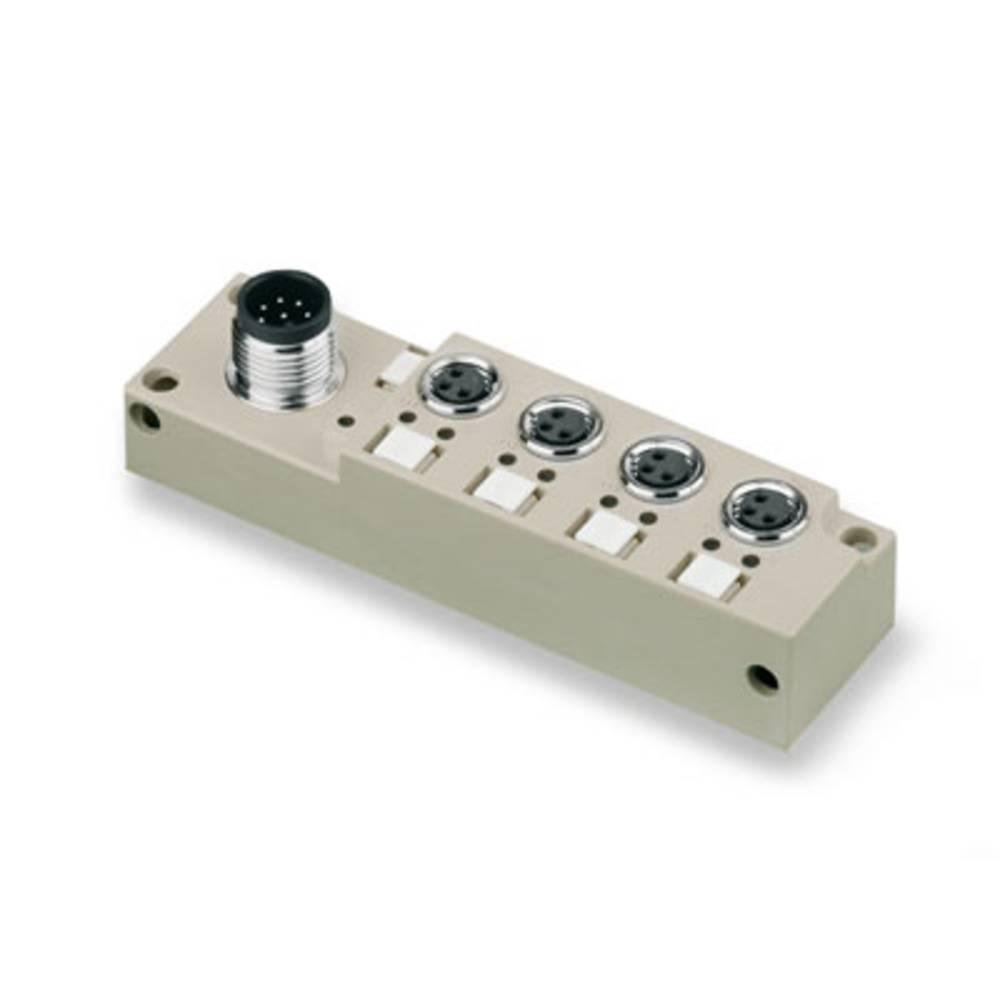 Razdelilnik za pasivne senzorje in aktuatorje SAI-4-S 3P M8 L Weidmüller vsebuje: 1 kos