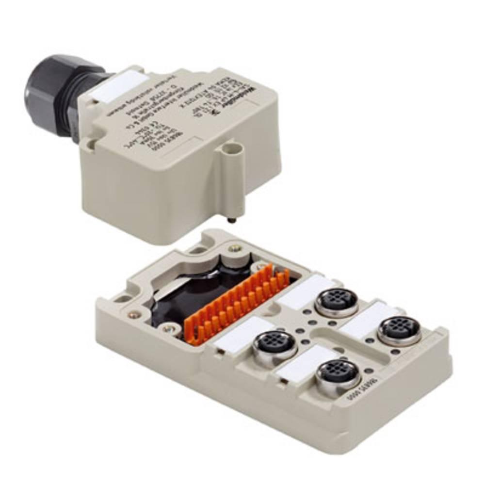 Sensor/aktorbox passiv M12-fordeler med metalgevind SAI-4-M 4P EXI Z1 OL 1868350000 Weidmüller 1 stk