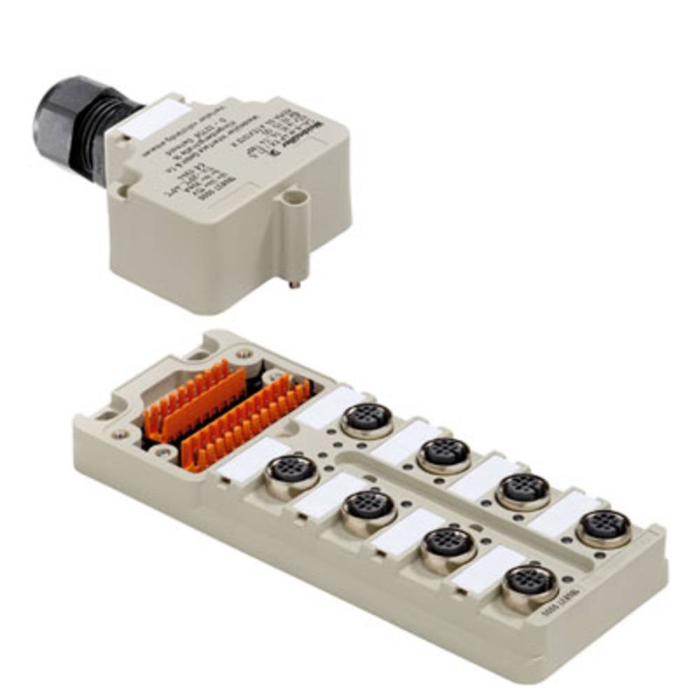 Sensor/aktorbox passiv Fordeler med M12-stik SAI-6-M 5P M12 EX IA 1896070000 Weidmüller 1 stk