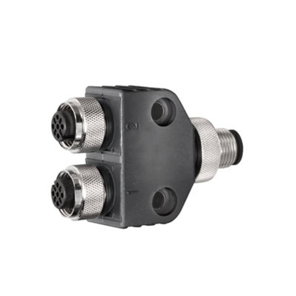 Vtični konektor za senzorje in aktuatorje, Y-razdelilnik SAI-Y-5S M12/M12 2BO Weidmüller vsebuje: 1 kos