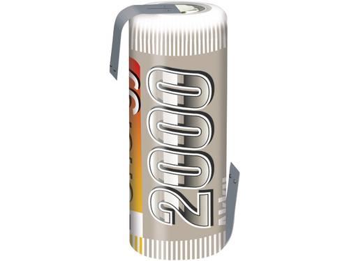Accucel NiMH 4/5 AF 1.2 V 2000 mAh Conrad energy Met soldeerlip