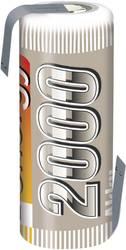RC Batteri-cell NiMH 4/5 AF 1.2 V 2000 mAh Conrad energy med lödstift