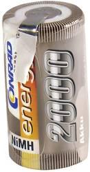 RC Batteri-cell Conrad energy NiMH Sub-C 1.2 V 2000 mAh med lödstift