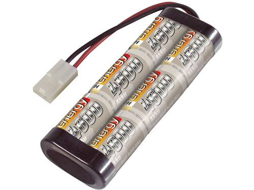 Conrad energy NiMH accupack 7.2 V 4600 mAh Aantal cellen: 6 Stick Tamiya-stekker