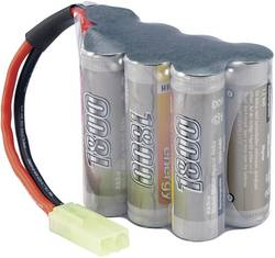 RC Batteripack (NiMh) 8.4 V 1800 mAh Antal celler: 7 Conrad energy Hump Mini-Tamiya stickpropp