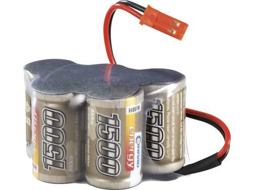 Conrad energy NiMH ontvangeraccu 6 V 1500 mAh Hump BEC