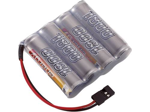 Conrad energy NiMH ontvangeraccu 4.8 V 1800 mAh Side by Side JR-bus