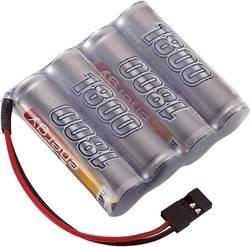 RC Mottagarbatteri (NiMh) Conrad energy NiMH R6 (AA) Sida vid sida 4.8 V 1800 mAh