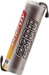 RC Batteri-cell Conrad energy NiMH R6 (AA) 1.2 V 2300 mAh med lödstift