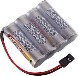 RC Mottagarbatteri (NiMh) Conrad energy NiMH R6 (AA) Sida vid sida 4.8 V 2300 mAh